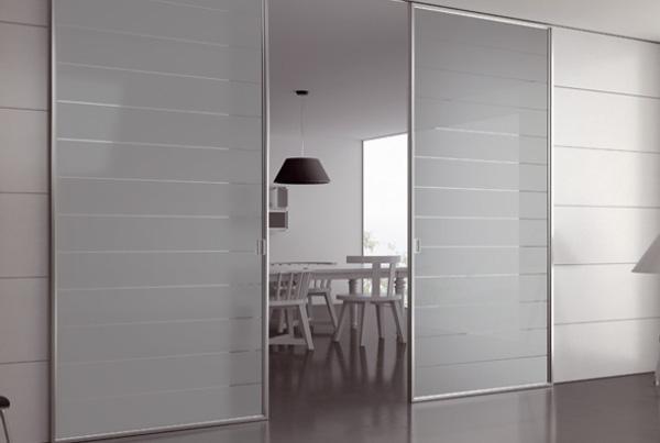 Porte Cristallo A Scomparsa.Porta A Scrigno Legno E Vetro Porte In Legno Classiche Per Interni